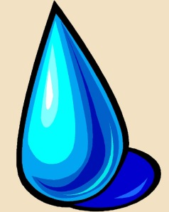large water drop clipart2