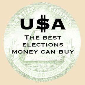 USA Best Elections Money Can Buy Button2